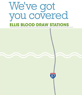 Ellis blood draw map